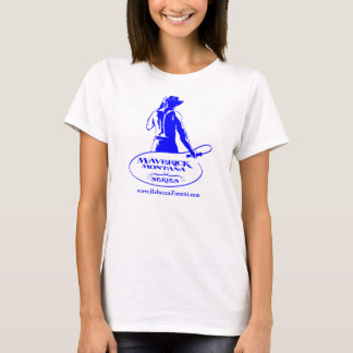 Women's T-shirt with Maverick Montana Logo