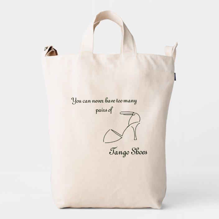 Cotton Tote Bag I Love To Tango