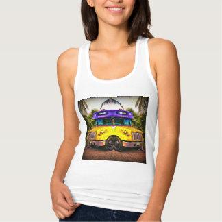 Women's tank top with design