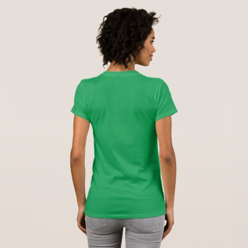 Womens Team Deb Plain back T_Shirt