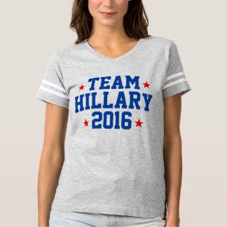 """Women's """"TEAM HILLARY 2016"""" Jersey T-shirt"""