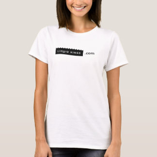Women's - Tee White Wave