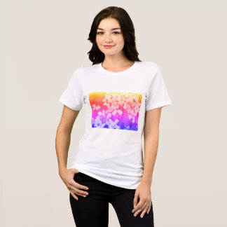 Womens Tee with flower photo