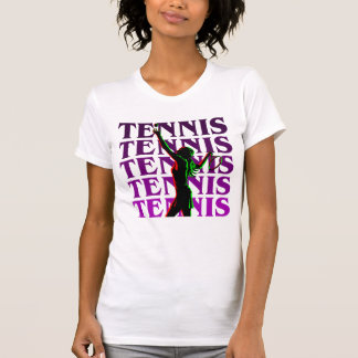 Women's Tennis 1 Purplle Light or Dark T-Shirt