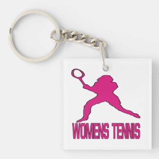 Womens Tennis 2.png Keychain