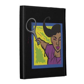 Womens Tennis 3.png iPad Folio Cases