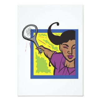 Womens Tennis Card
