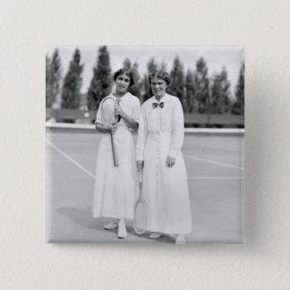 Women's Tennis Champions, 1913 Button