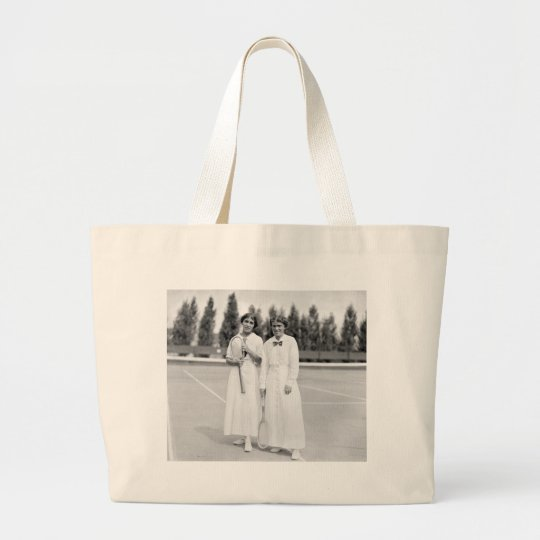 Women's Tennis Champions, 1913 Large Tote Bag