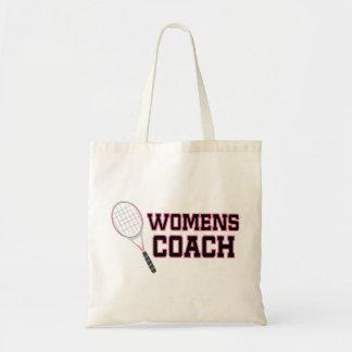 Womens Tennis Coach Tote Bag