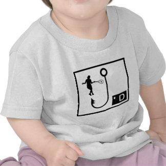 Womens Tennis Hooked T-shirt