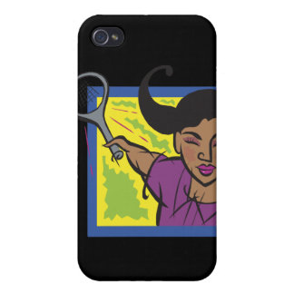Womens Tennis Cover For iPhone 4