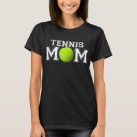 Womens Tennis Mom match day mother_s day t-shirt