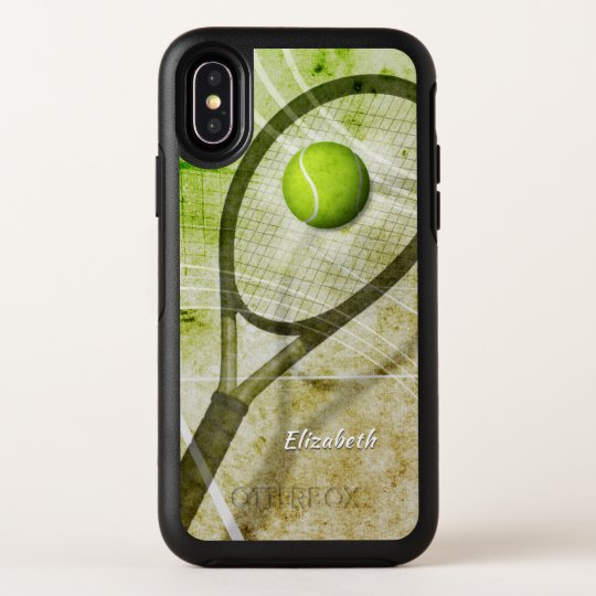 women s tennis OtterBox iPhone X case with name  ab4b05b6eb