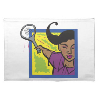 Womens Tennis Placemat