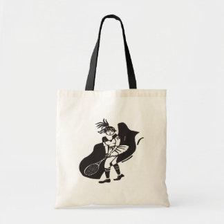 Womens Tennis Tote Bag