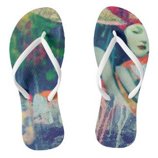 Womens thongs flip flops