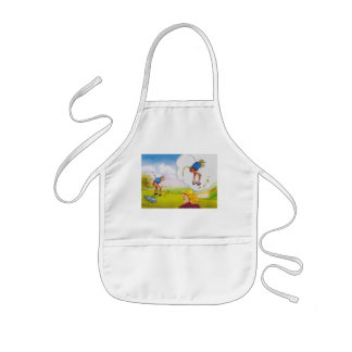 womens thoughts on men kids' apron