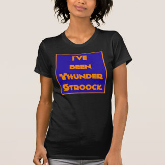 Women's Thunder Stroock Air Guitar Groupie T-shirt