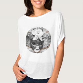 Women's Top & Venetian Carnival Mask Shirt