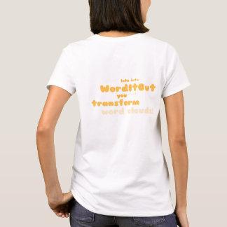 Women's Tops: back layout T-Shirt