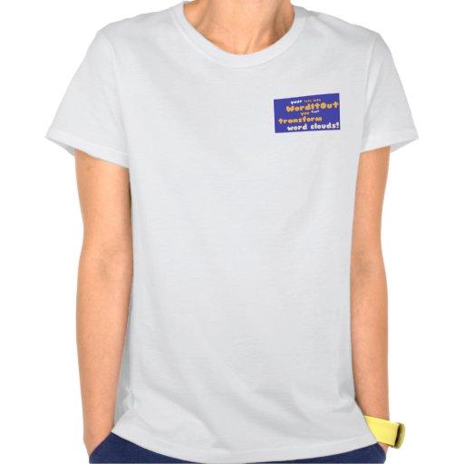 Women's Tops: pocket layout T-shirt