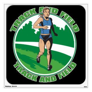 Women's Track and Field Wall Graphics