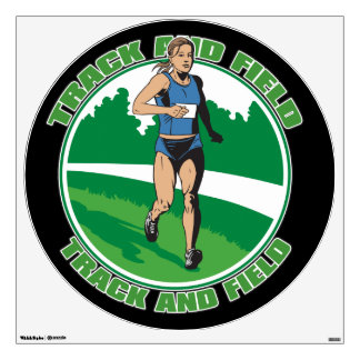 Women's Track and Field Room Graphic