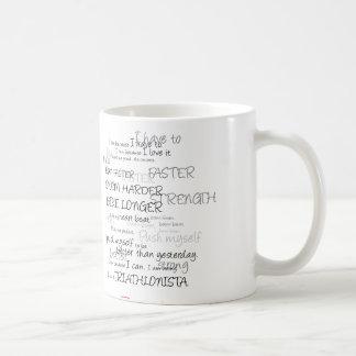 Women's Tri: Swim.Bike.Run Coffee Mug