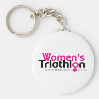 Women's Triathlon Keychain