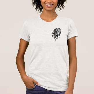 Womens tribal cuttlefish design shirt