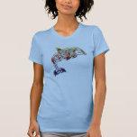Womens tribal dolphin shirt