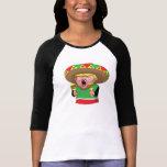 Women's Trump Mexican 3/4 Sleeve T-Shirt