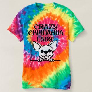 Women's Tye Dye Chihuahua Shirt