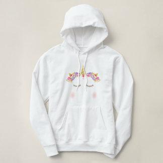 Women's Unicorn Hooded Sweatshirt