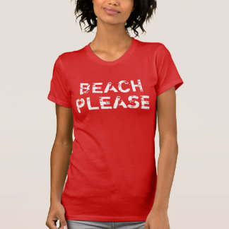 Women's Vintage Beach Please Tshirts