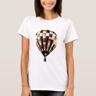 Women's vintage hot air balloon t-shirt