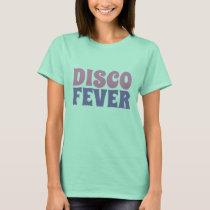 Women's vintage novelty tee DISCO FEVER T-shirt