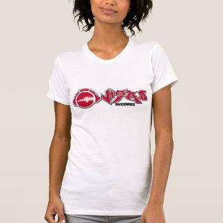 Womens Visad Records Lable T Shirt