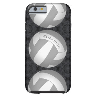 women's volleyball any color tough iPhone 6 case