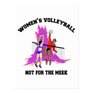 Women's Volleyball Gift Post Card