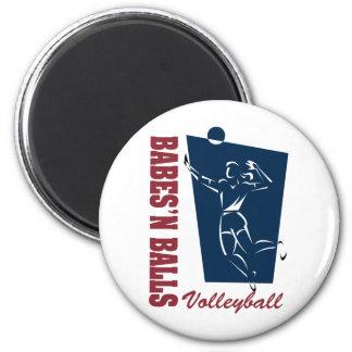Women's Volleyball Magnet