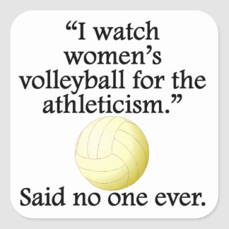 Women's Volleyball Stickers