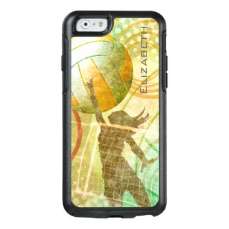 Women's volleyball sunny gold OtterBox iPhone 6/6s case