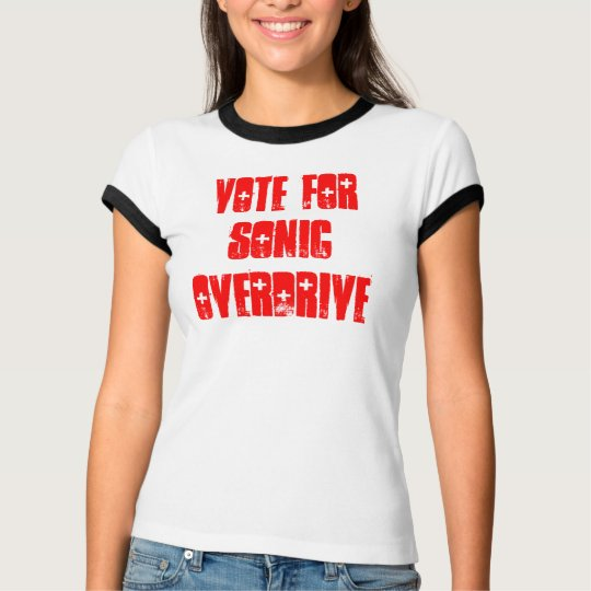 Womens Vote For Sonic Overdrive T-Shirt