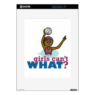 Womens Water Polo Decals For iPad