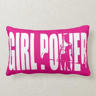 Women's Weightlifting Motivation - Girl Power Pillow