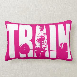 Women's Weightlifting Motivation - TRAIN Pillow