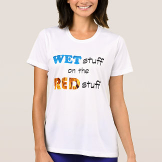 Women's Wet on the Red Tee Shirt