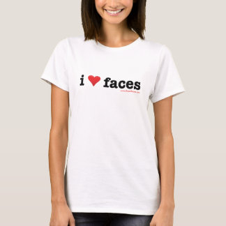 Women's White Fitted T-Shirt